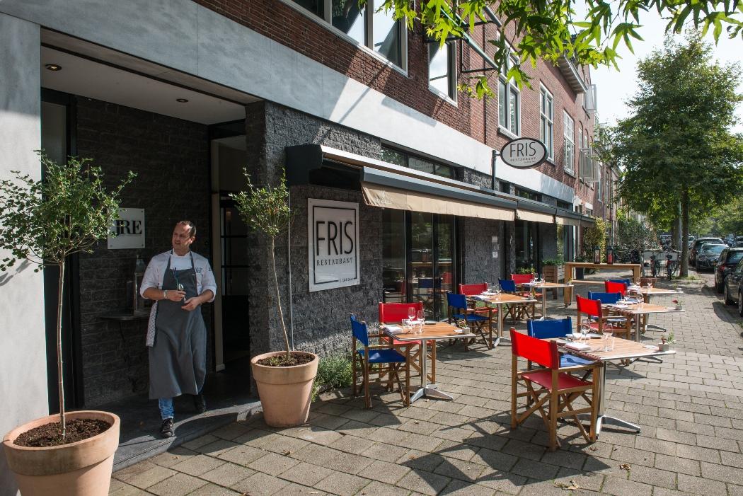 Chef rick may presenteert bijzondere wereldse signatuur in restaurant fris haarlem for Moderne kookstijl